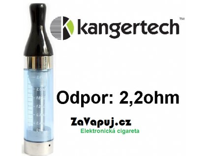 Kangertech CC/T2 clearomizer 2,4ml 2,2ohm Blue