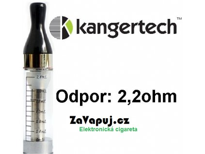 Kangertech CC/T2 clearomizer 2,4ml 2,2ohm Clear