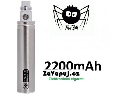 BuiBui GS eGo II baterie 2200mAh Silver