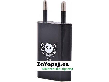 BuiBui eGo síťový adapter Black 1A (1000mA)