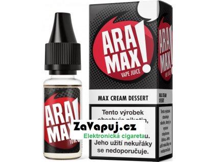 Liquid Aramax - Krémový dezert (Max Cream Dessert) 10ml 0mg
