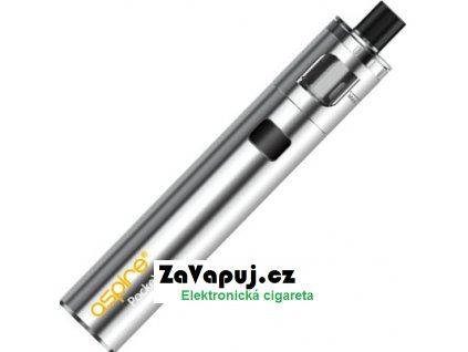 Elektronická cigareta aSpire PockeX AIO 1500mAh Stříbrná