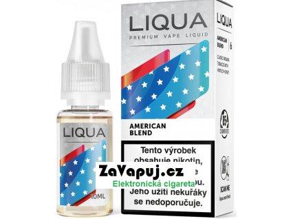 Liquid LIQUA CZ Elements American Blend 10ml-12mg (Americký míchaný tabák)