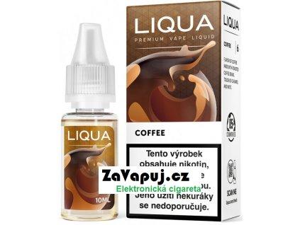 Liquid LIQUA CZ Elements Coffee 10ml-6mg (Káva)