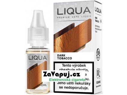 Liquid LIQUA CZ Elements Dark Tobacco 10ml-12mg (Silný tabák)