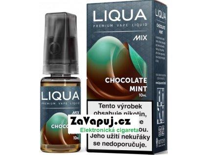 Liquid LIQUA CZ MIX Chocolate Mint 10ml-3mg
