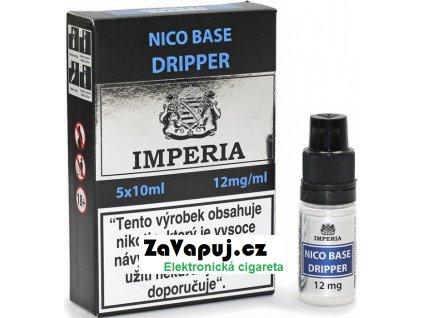 Nikotinová báze CZ IMPERIA Dripper 5x10ml PG30-VG70 12mg