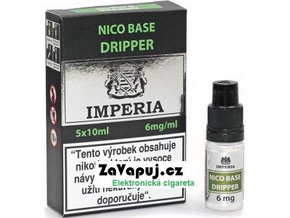 Nikotinová báze CZ IMPERIA Dripper 5x10ml PG30-VG70 6mg