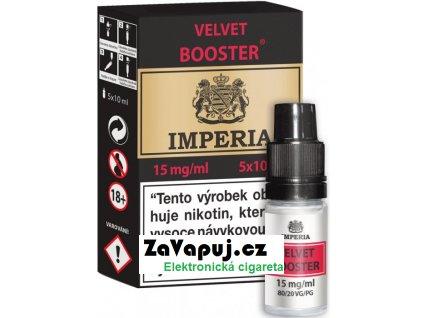 Velvet  Booster CZ IMPERIA 5x10ml PG20-VG80 15mg