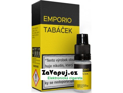 Liquid EMPORIO Tobacco 10ml - 6mg