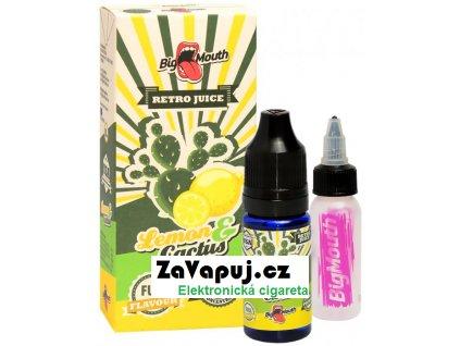 Příchuť Big Mouth RETRO - Lemon and Cactus