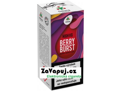 Liquid Dekang High VG Berry Burst 10ml - 1,5mg (Lesní ovoce s jablkem)