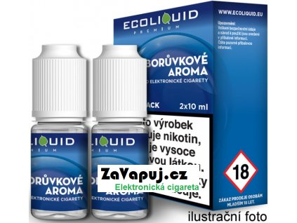 Liquid Ecoliquid Premium 2Pack Blueberry 2x10ml - 0mg (Borůvka)