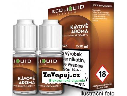 Liquid Ecoliquid Premium 2Pack Coffee 2x10ml - 18mg (Káva)
