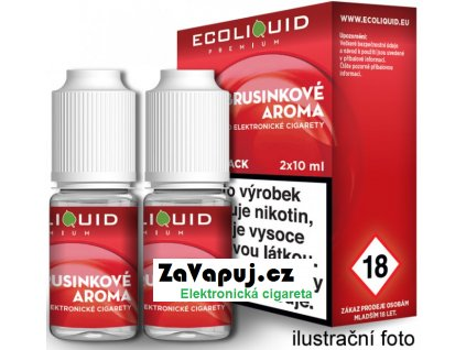 Liquid Ecoliquid Premium 2Pack Cranberry 2x10ml - 12mg (Brusinka)