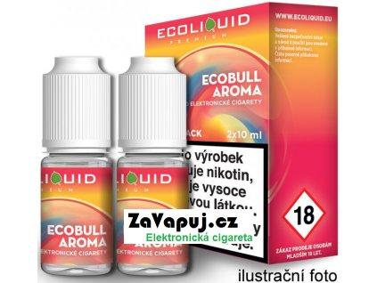 Liquid Ecoliquid Premium 2Pack Ecobull 2x10ml - 20mg (Energetický nápoj)