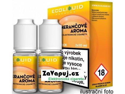 Liquid Ecoliquid Premium 2Pack Orange 2x10ml - 20mg (Pomeranč)