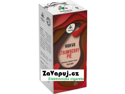 Liquid Dekang High VG Strawberry Pie 10ml - 0mg (Jahodový koláč)