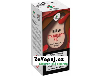 Liquid Dekang High VG Strawberry Pie 10ml - 6mg (Jahodový koláč)