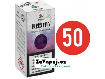Liquid Dekang Fifty Berry Mix 10ml - 6mg (Lesní Plody)