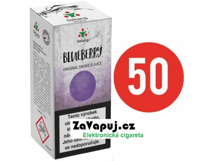 Liquid Dekang Fifty Blueberry 10ml - 16mg (Borůvka)