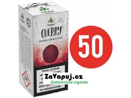 Liquid Dekang Fifty Cherry 10ml - 3mg (Třešeň)