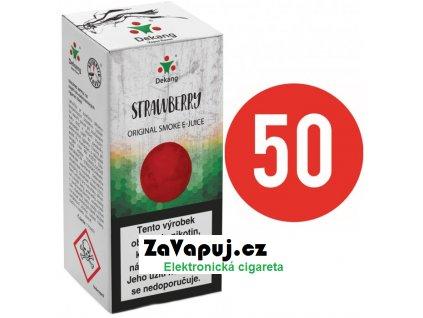 Liquid Dekang Fifty Strawberry 10ml - 6mg (Jahoda)