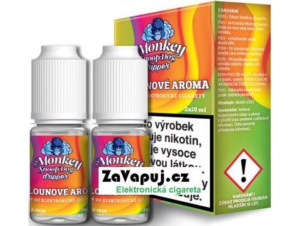 Liquid Monkey SnoopDog Dripper 2Pack Melon 2x10ml - 0mg