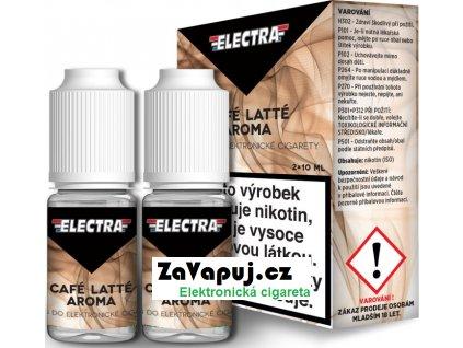 Liquid ELECTRA 2Pack Cafe Latte 2x10ml - 6mg