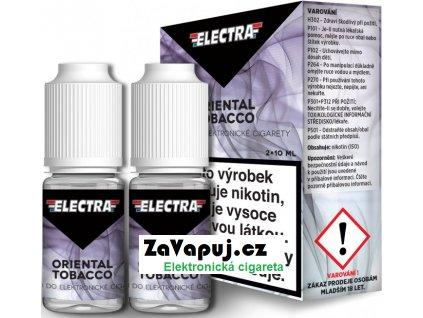 Liquid ELECTRA 2Pack Oriental Tobacco 2x10ml - 18mg