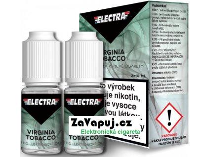 Liquid ELECTRA 2Pack Virginia Tobacco 2x10ml - 0mg