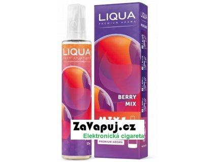 Příchuť Liqua Mix&Go 12ml Berry Mix