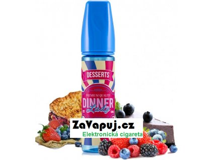 Příchuť Dinner Lady Shake and Vape 20ml Berry Tart