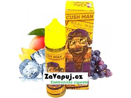 Příchuť Nasty Juice - CushMan S&V 20ml Grape Mango