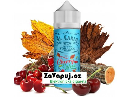Příchuť Al Carlo Shake and Vape 15ml Cherry Wood