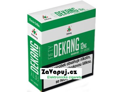 Nikotinová báze Dekang Fifty 5x10ml PG50-VG50 12mg