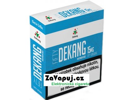 Nikotinová báze Dekang Fifty 5x10ml PG50-VG50 15mg