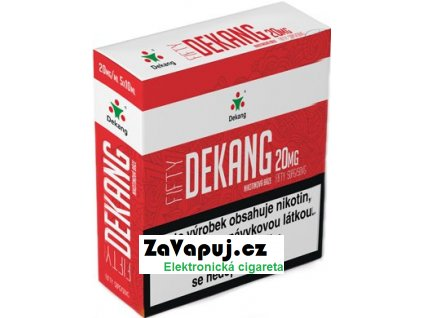Nikotinová báze Dekang Fifty 5x10ml PG50-VG50 20mg