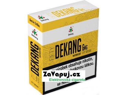 Nikotinová báze Dekang Fifty 5x10ml PG50-VG50 6mg