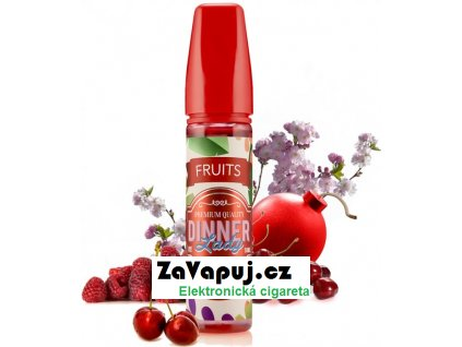Příchuť Dinner Lady Fruits 20ml Berry Blast