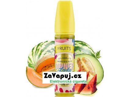 Příchuť Dinner Lady Fruits 20ml Melon Twist