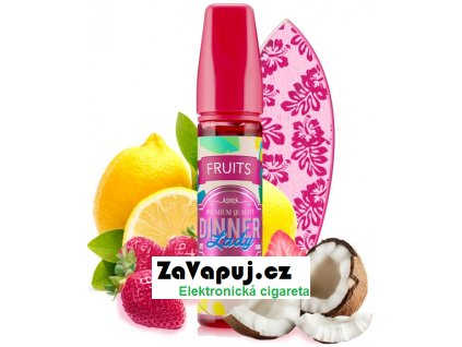 Příchuť Dinner Lady Fruits 20ml Pink Wave