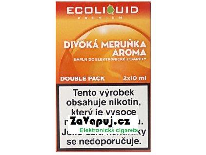 Liquid Ecoliquid Premium 2Pack Wild Apricot 2x10ml - 3mg