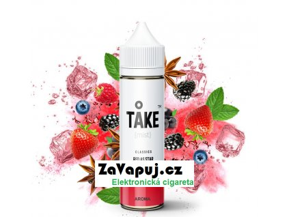 Příchuť ProVape Take Mist S&V Red As Star (Bobulovitý mix s anýzem) 20ml