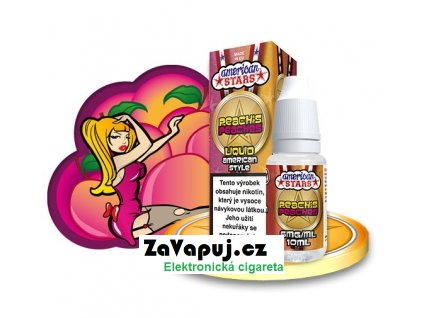 Liquid American Stars Peach's Peaches 10ml