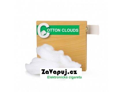 Přírodní japonská vata Vapefly Cotton Clouds