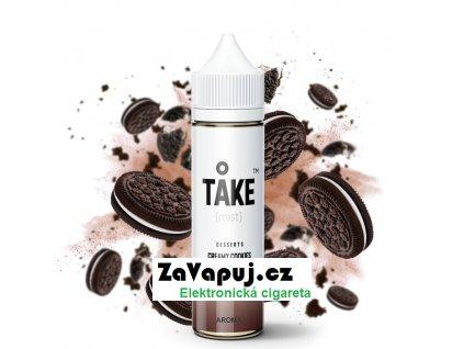 Příchuť ProVape Take Mist S&V Creamy Cookies (Kakaové sušenky s krémem) 20ml