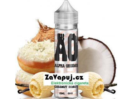 Příchuť Alpha Origins Shake and Vape 15ml Coconut Donut