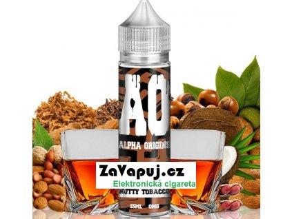Příchuť Alpha Origins Shake and Vape 15ml Nutty Tobacco