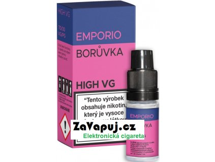Liquid EMPORIO High VG Blueberry 10ml - 0mg